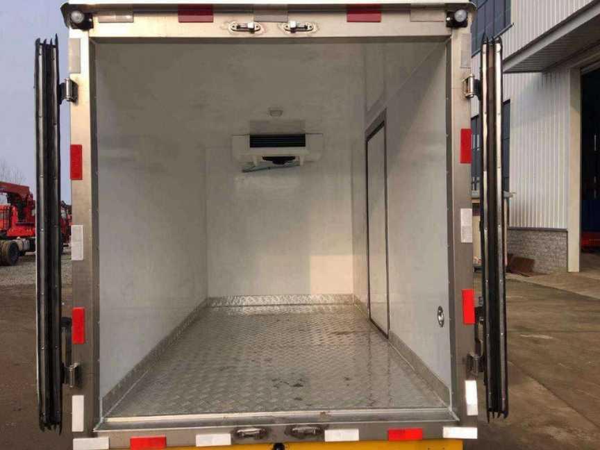 解放虎v冷藏车厂家报价-5度冷藏保温车-15度冷