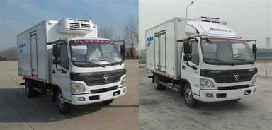 福田牌冷藏车(BJ5049XLC-F1)产品结构和技术发展趋势