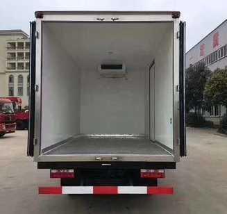 江淮蓝牌冷藏车4米厢体生鲜货冷藏运输车价格