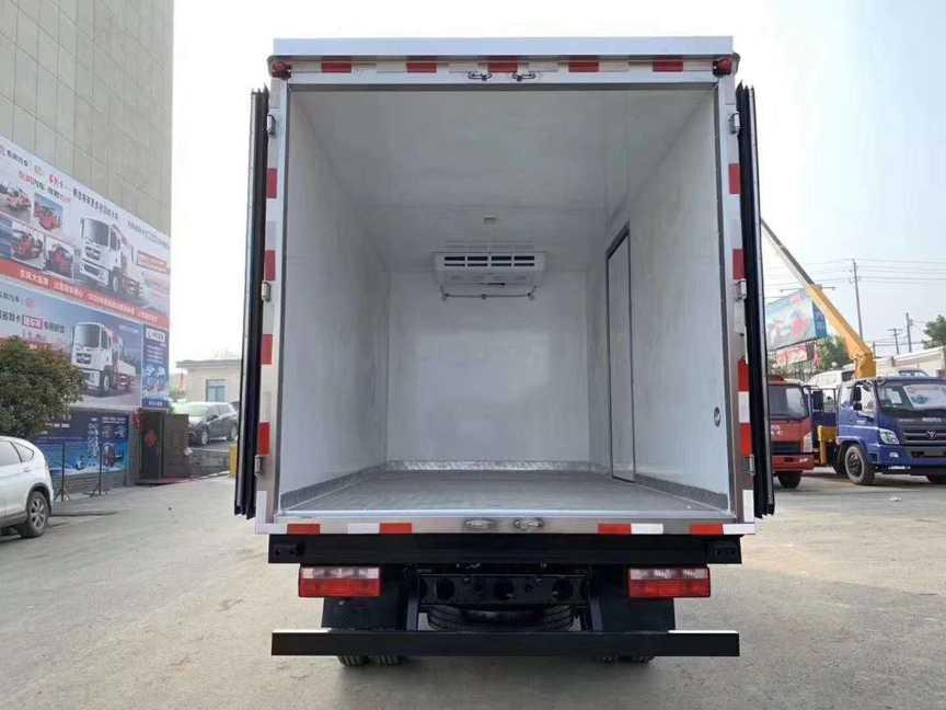 国六蓝牌冷藏车解放冷链车厂家最新价格