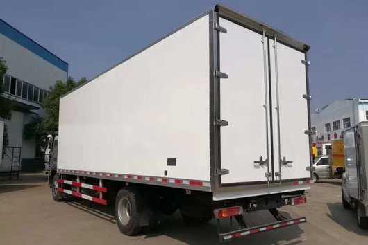 福田欧马可S5型7.6米厢体冷藏车厂家最新价格