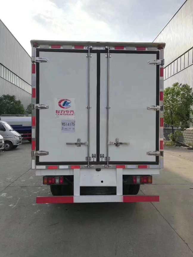 江淮蓝牌4米厢长冷冻食品车