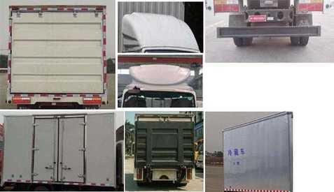 大运牌冷藏车(CG大运牌070XLCHDE33E)参数配置图片