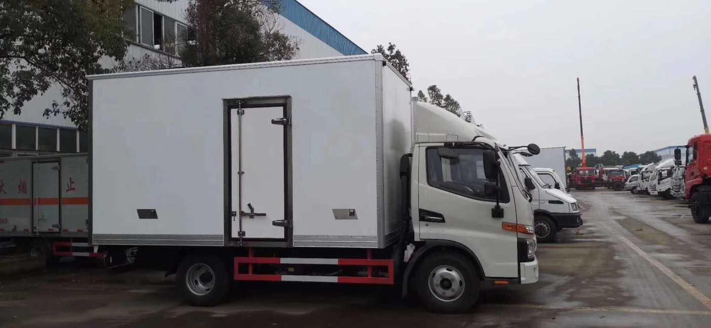 江淮4米厢体冷藏车挂猪肉冷藏保鲜运输车价格