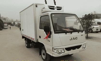 江淮康玲3.1米冷藏车