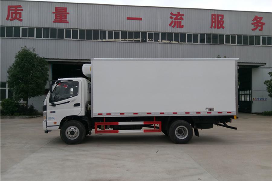福田欧马可冷藏车5.2米