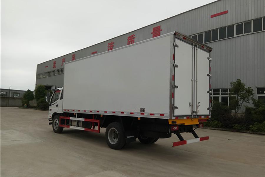 福田欧马可冷藏车6.2米