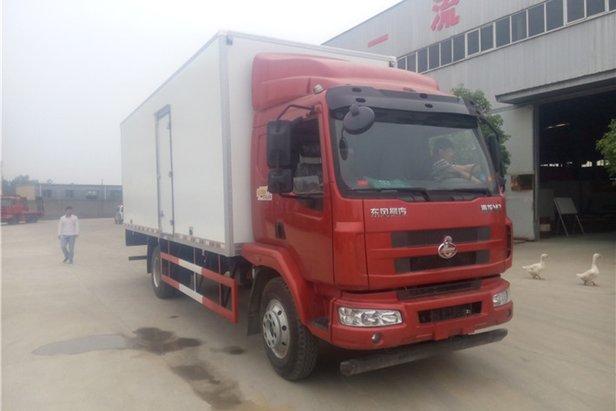 柳汽乘龙冷藏车6.8米